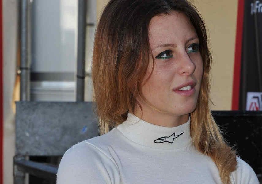Donne al volante Carlotta Fedeli