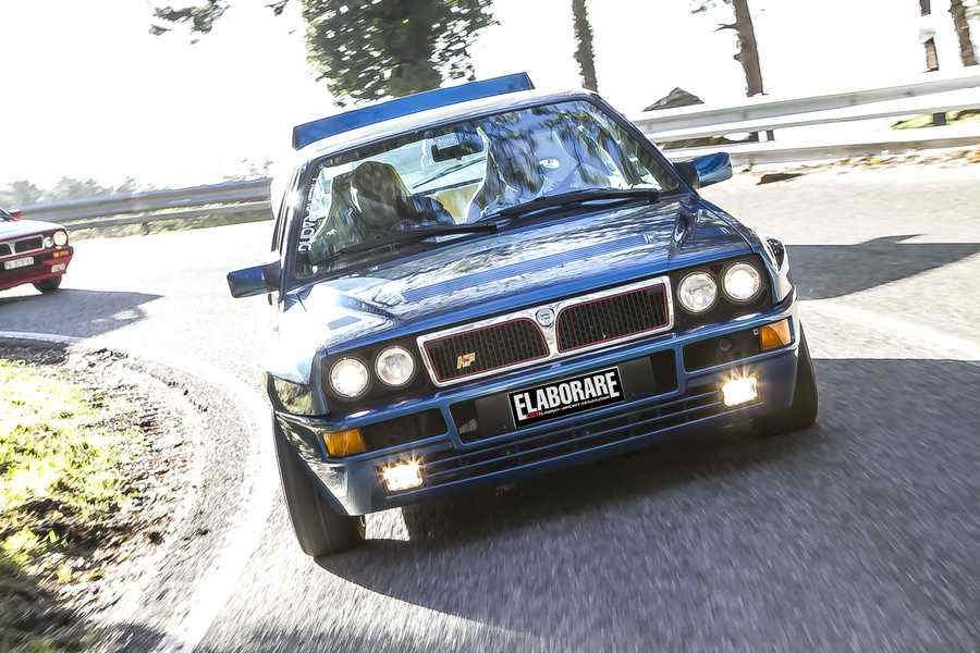 """Lancia Delta Integrale auto """"ventennale"""""""