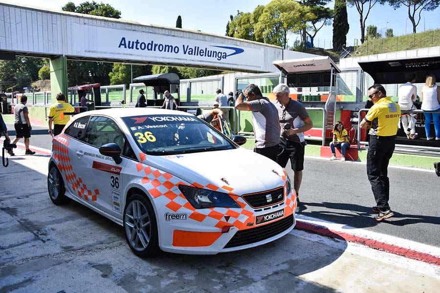 Photo of Seat Ibiza Cup Vallelunga Aci Racing Settembre 2015