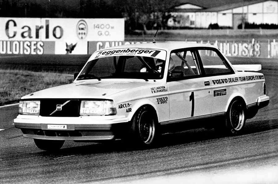Photo of SUCCESSI STORICI VOLVO MOTORSPORT 240 TURBO