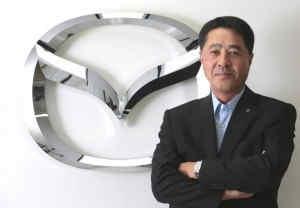 Masamichi Kogai CEO Mazda