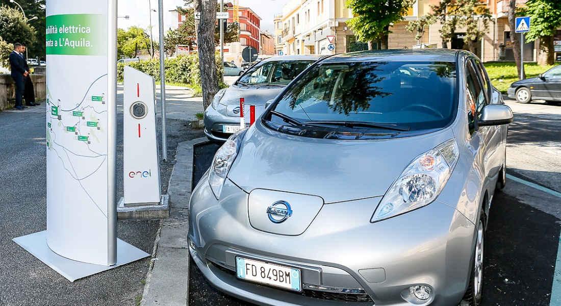 "Photo of Nissan ""smart City L'Aquila"" Enel"