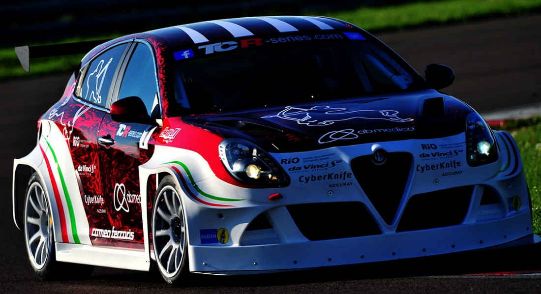 Photo of Giulietta TCR Ferarris Bahrain