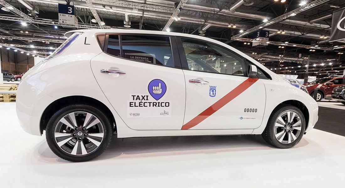 Photo of Nissan Taxi Elettrico Madrid