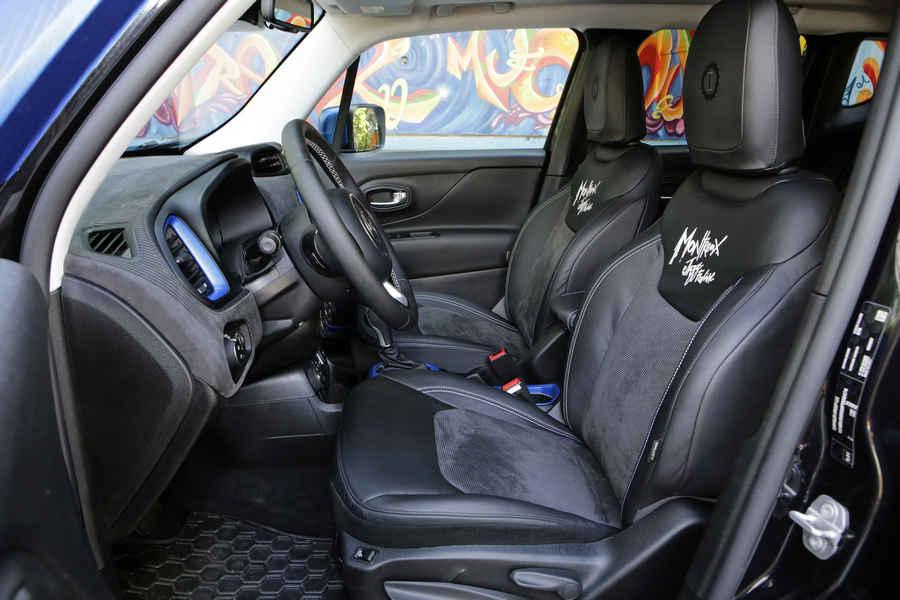 Jeep Renegade Vinyl interni