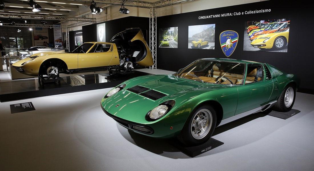 Photo of Lamborghini al 33^  Salone Auto e Moto D'epoca