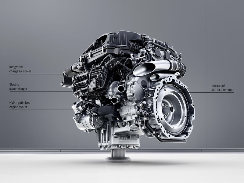 Mercedes-Benz Sechszylinder-Benzinmotor M256