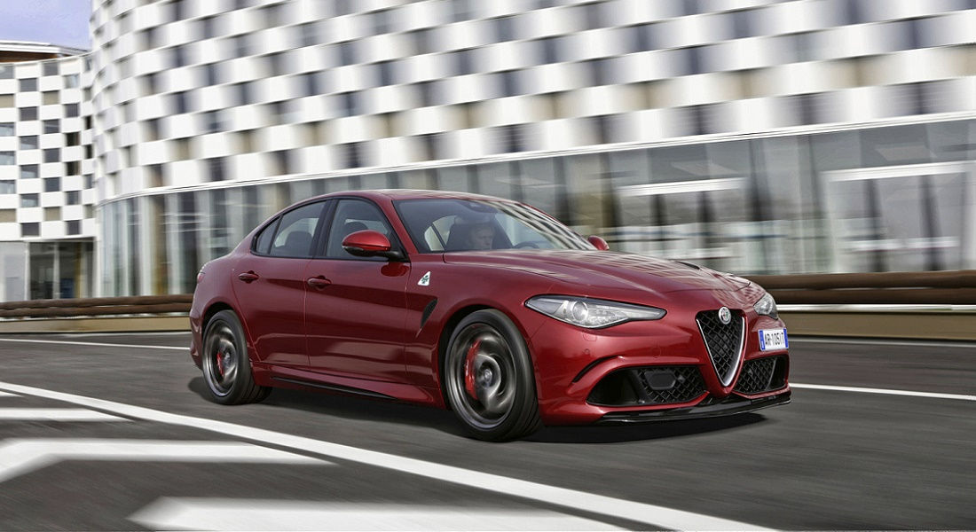 "Photo of Alfa Romeo Giulia ""auto Più Bella"" 2016"
