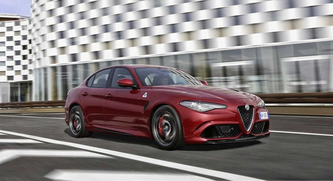 """Photo of Alfa Romeo Giulia """"auto Più Bella"""" 2016"""