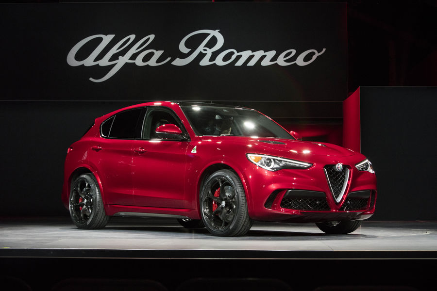 Photo of Alfa Romeo Stelvio Los Angeles 2016