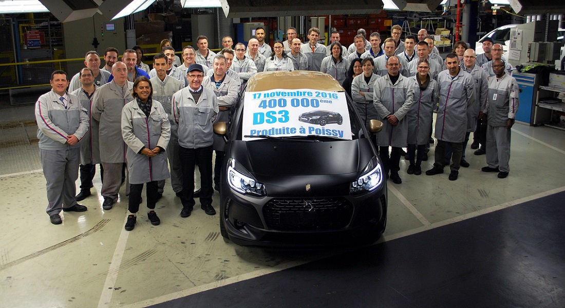 Photo of Ds 3 400.000 Compleanno a Poissy