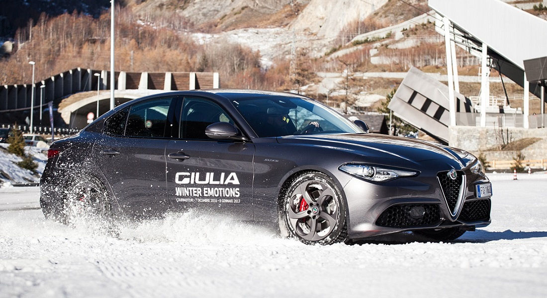 Photo of Alfa Romeo Giulia Winter Emotion