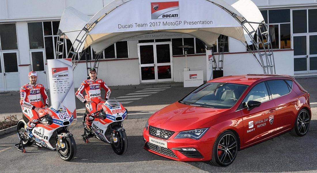 Photo of Seat Auto Ufficiale Ducati Moto Gp
