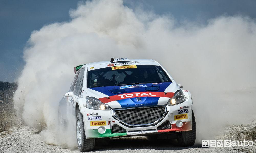 Photo of Video Peugeot 208 T16 Andreucci al Rally di San Marino
