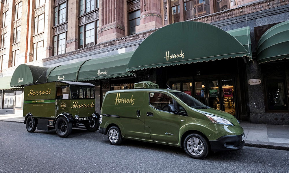 Photo of Nissan E-Nv200 Harrods Londra