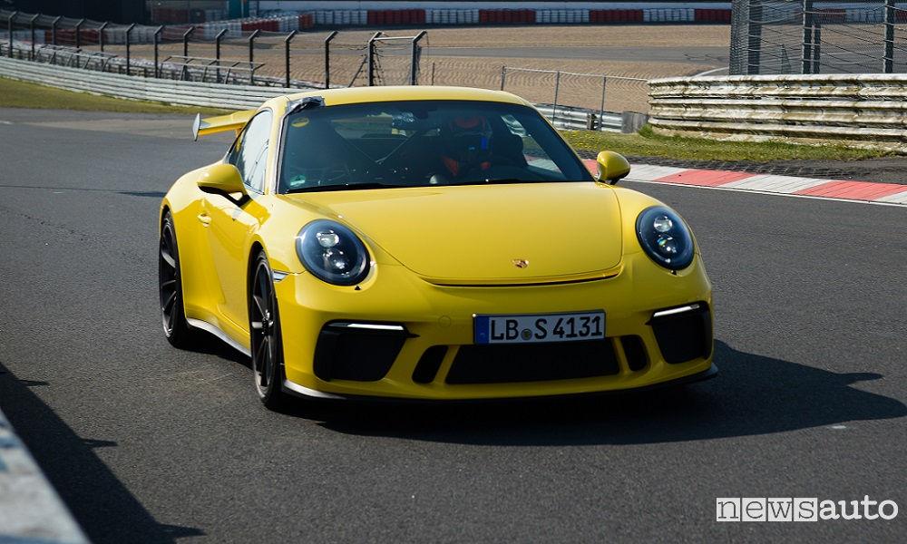 Photo of Record Porsche 911 Gt3 Nürburgring