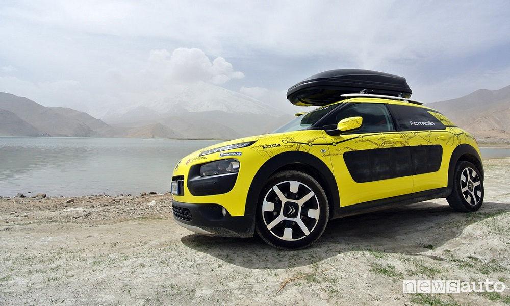 Photo of Citroën C4 Cactus Avventura Gialla Diario