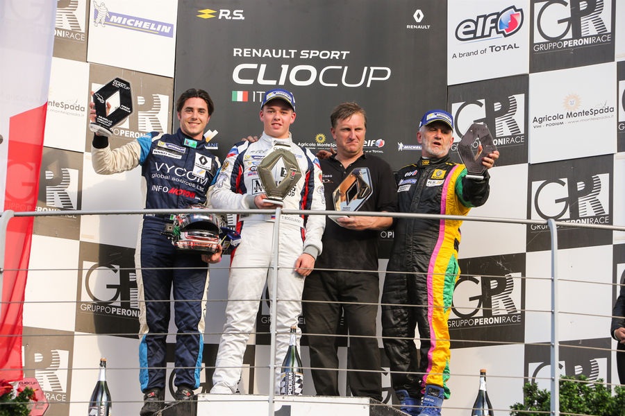 Renault Clio Cup Italia Press League Mugello 2017