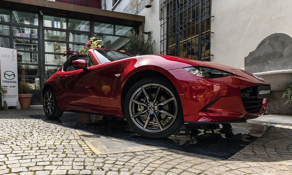 Photo of Mazda Mx-5 Rf al Fuorisalone 2017