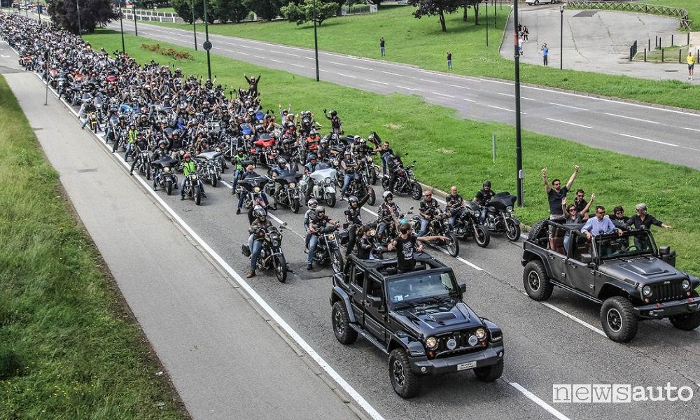 Photo of Jeep e Harley-Davidson #freedomlovers Torino