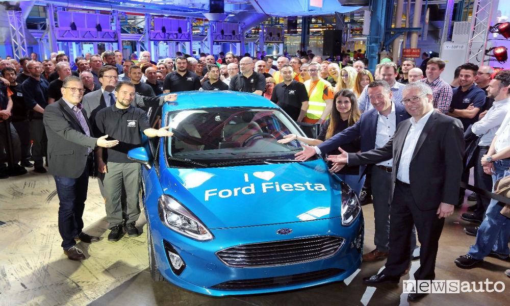 Photo of Nuova Ford Fiesta al Via La Produzione