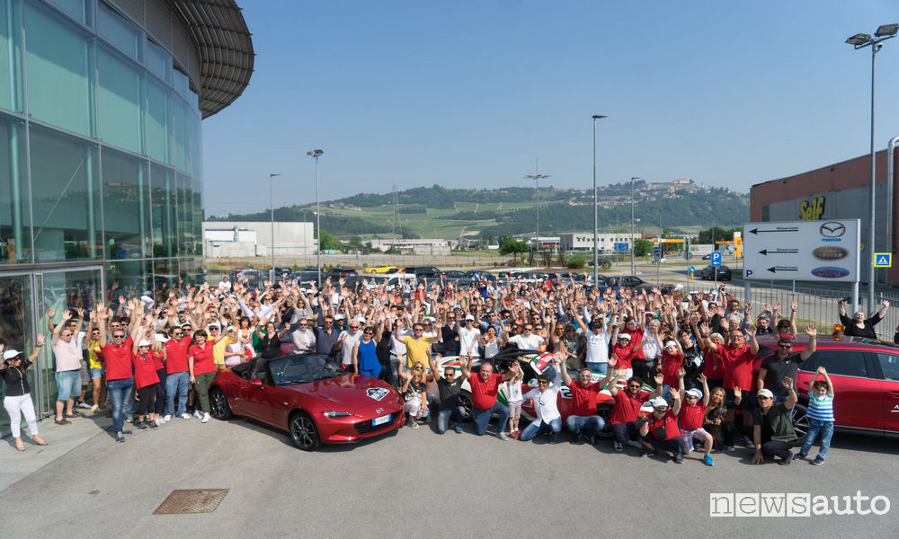 Photo of Raduno Andar per Langhe Mazda Mx-5