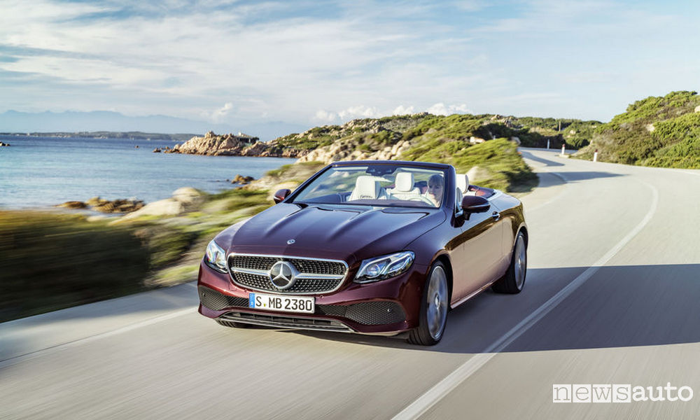 Photo of Nuova Mercedes-Benz Classe e Cabrio
