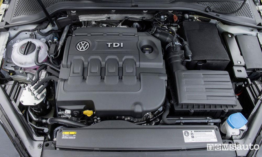 Emissioni Volkswagen Golf diesel TDI