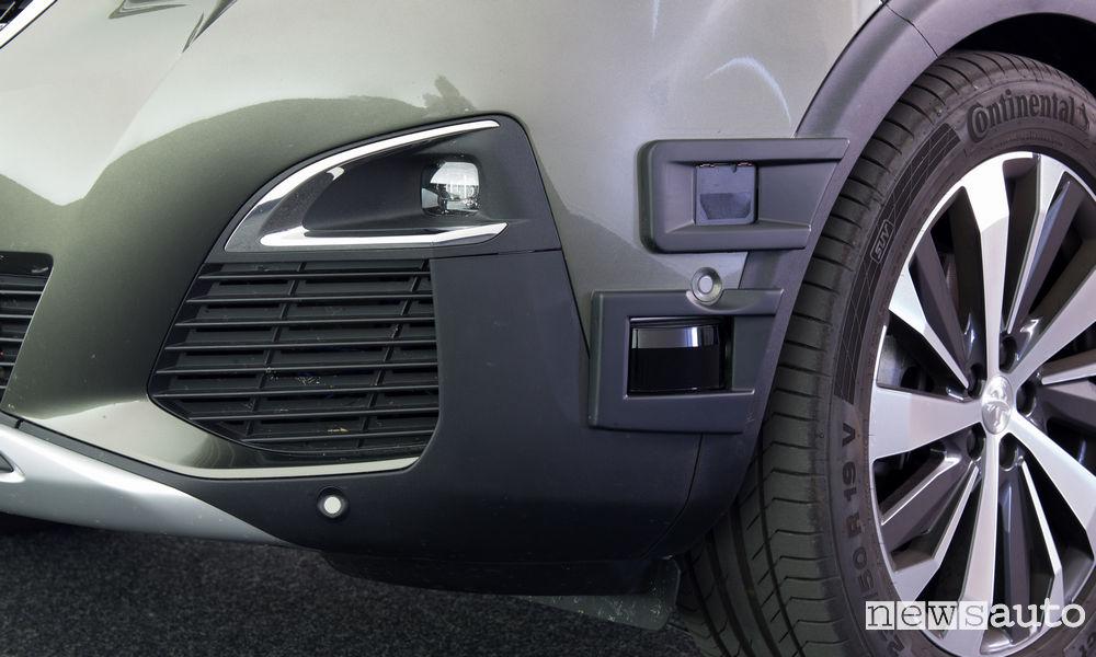 Sensori auto a guida autonoma anteriori AVA PSA GROUP guida autonoma Citroen