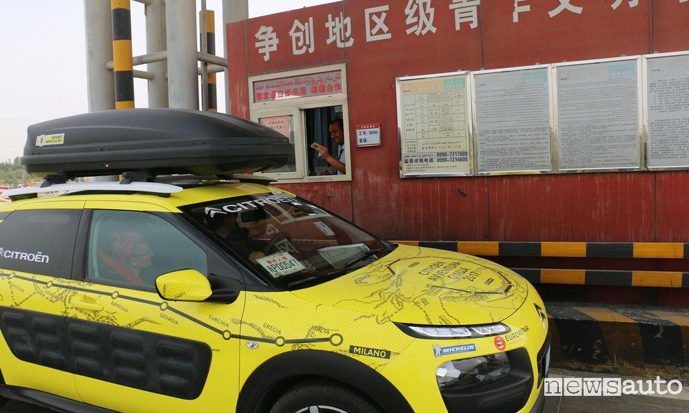 Photo of L'Avventura Gialla della Citroën C4 Cactus è arrivata a Pechino