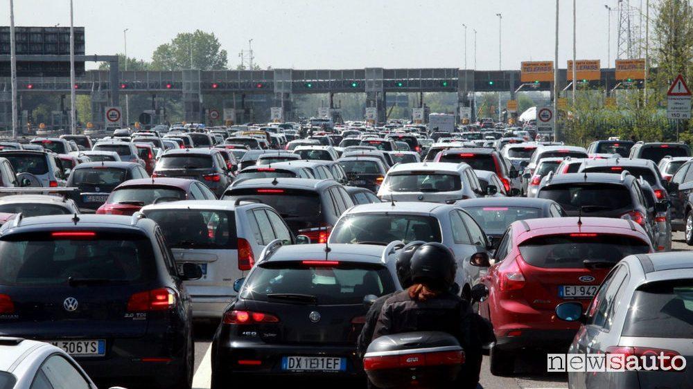 Rimborso pedaggio per code in autostrade