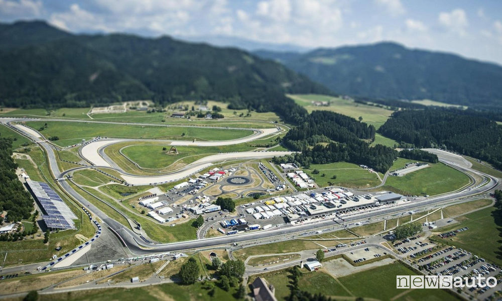 Circuito Red Bull Ring F1