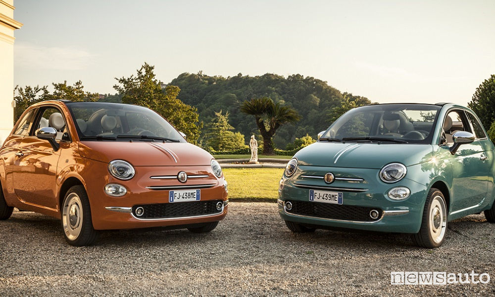 Photo of Le foto della Fiat 500 Anniversario