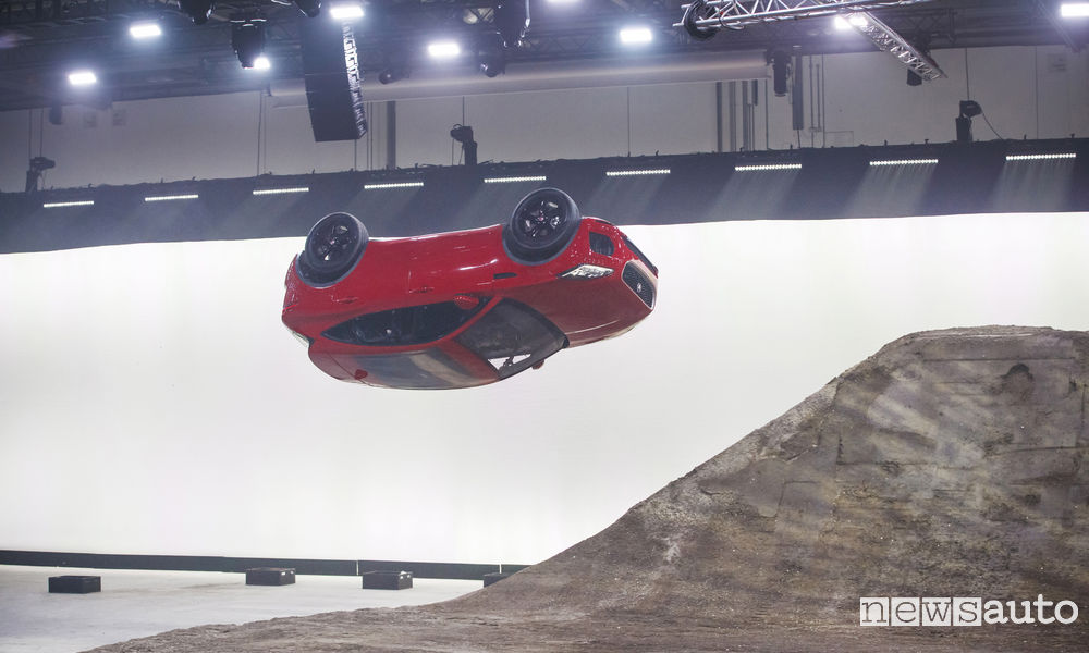 Photo of Jaguar E-Pace video Guinness World Record