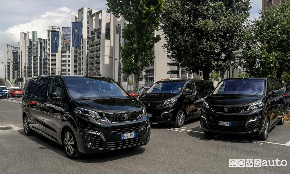 Peugeot Traveller, caratteristiche