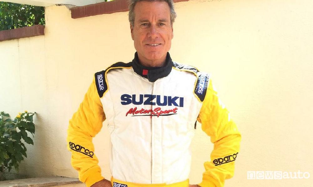 Photo of Jimmy Ghione pilota Suzuki alla Swift Cup Europe