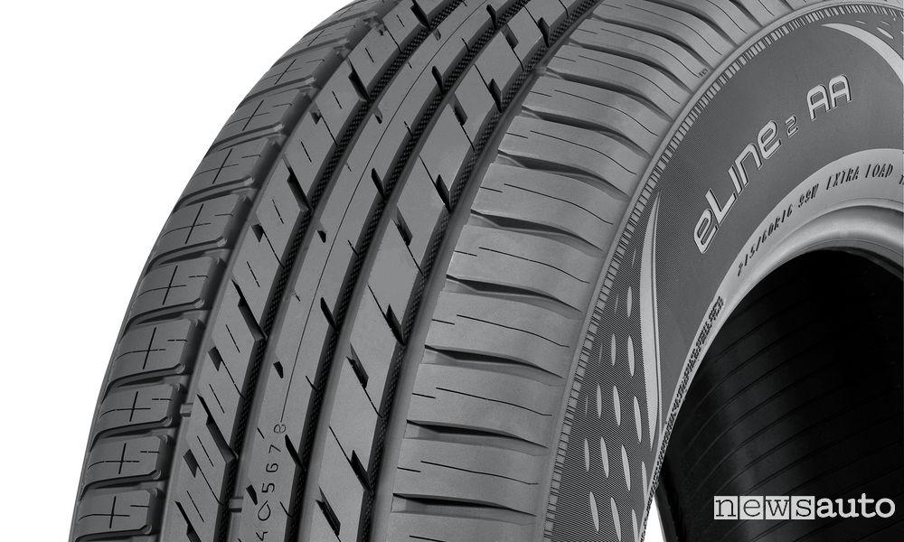 I pneumatici auto più stretti sono migliori su asfalto bagnato e sulla neve