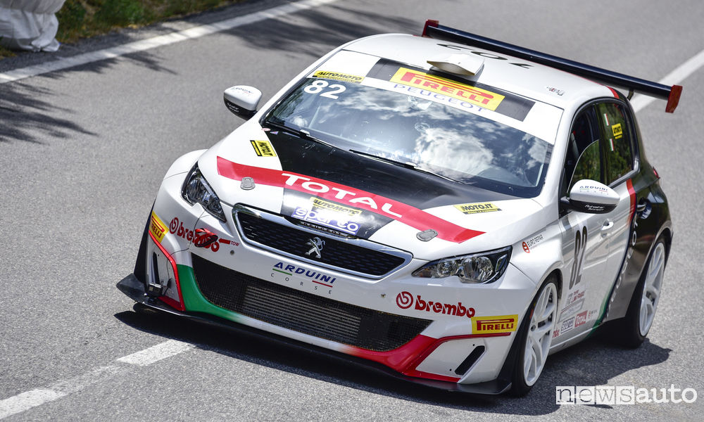 Photo of Peugeot 308 Racing Cup vittoria nel CIVM Trofeo Fagioli