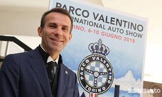 Andrea Levy, presidente di Parco Valentino Salone Auto Torino