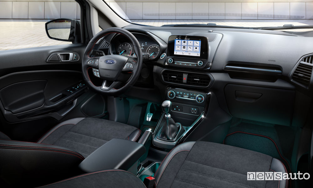 Ford Ecosport interni