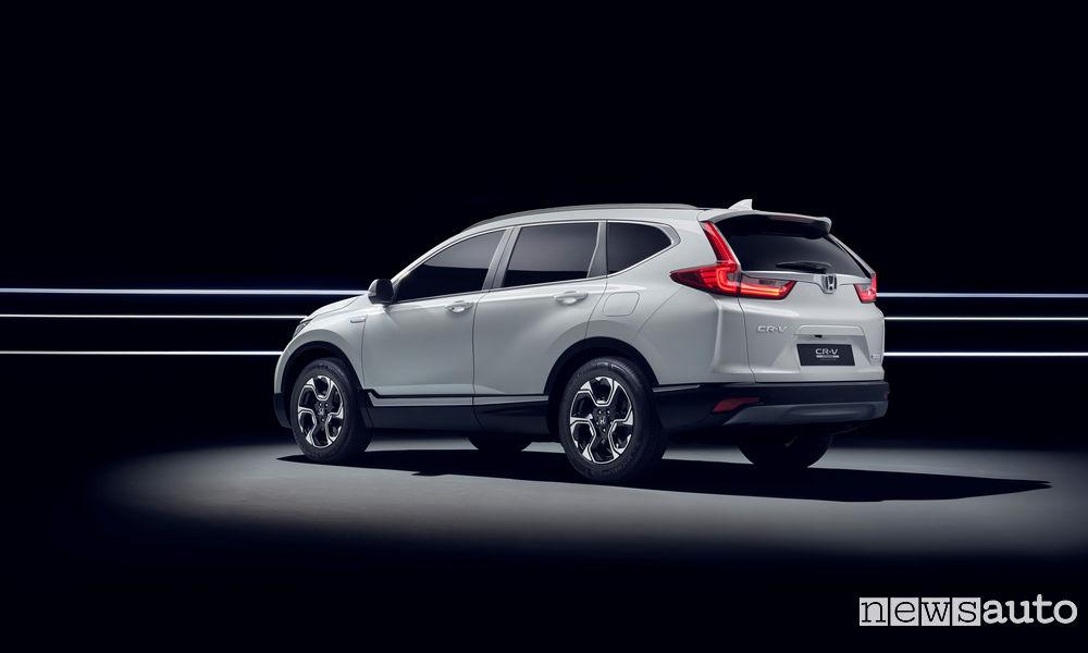 Photo of Le foto del prototipo di Honda CR-VHybrid