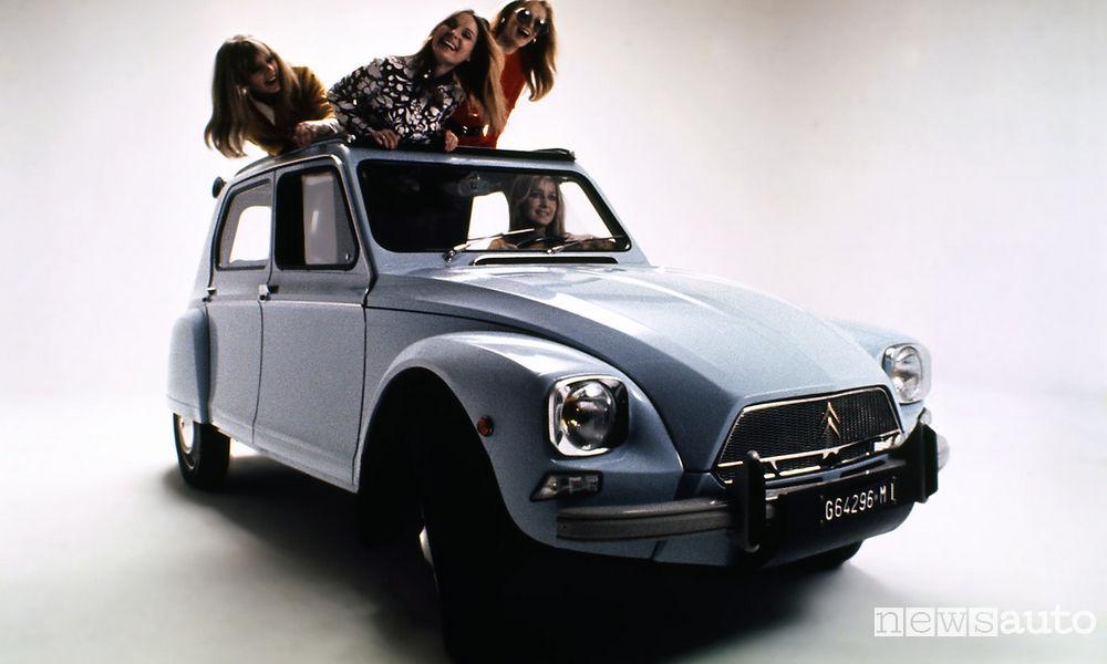Citroën Dyane, l'auto con gli jeans