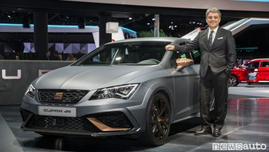 Photo of Seat Leon Cupra R al Salone di Francoforte