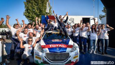 Peugeot e Andreucci Campioni Italiani Rally
