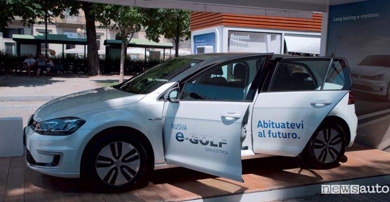 e-Roadshow Volkswagen a Padova Nuova e-Golf