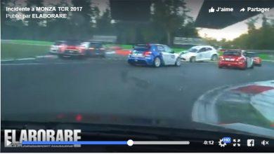 Incidente Monza Tcr 2017