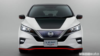 Photo of Le foto della Nissan Leaf e Serena Nismo
