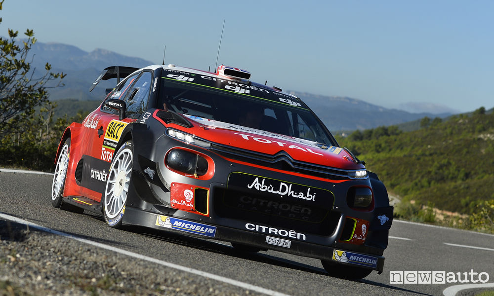 Rally di Spagna WRC 2017 Citroen Meeke