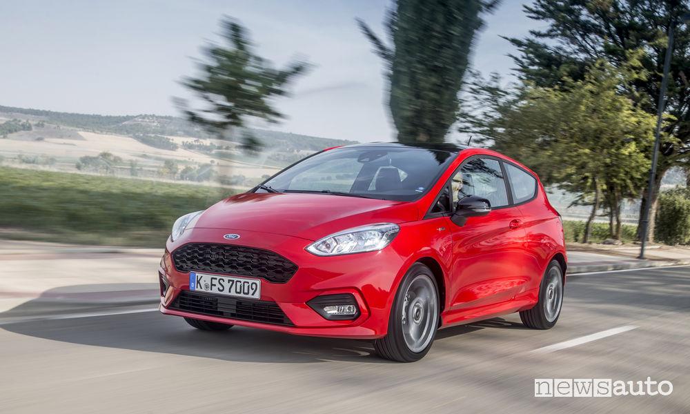 Nuova Ford Fiesta ST-Line prova