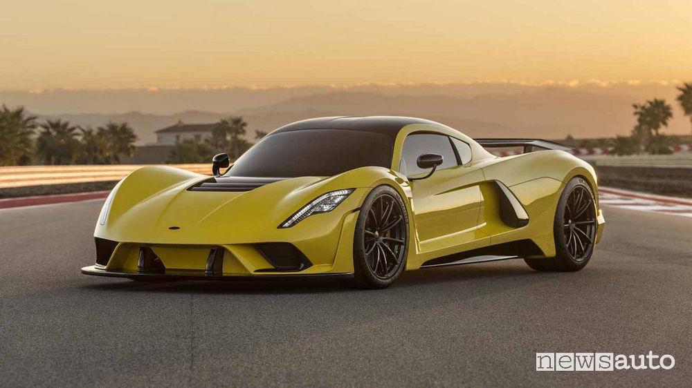 Auto più veloci al mondo: Hennessey Venom F5
